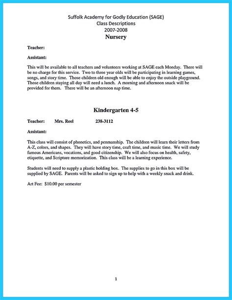 teacher resume sample 28 free word pdf documents download free
