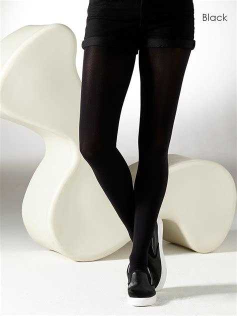 Gipsy Black gipsy 100 denier luxury opaque tights the tight spot