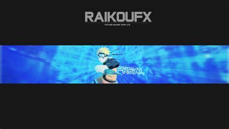 naruto youtube naruto uzumaki youtube anime banner by raikoufx on