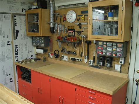 garage workshop layout tips north wall of garage workshop the a c unit on the wall