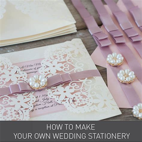 Stationery Wedding Invitations by Diy Wedding Stationery Invitations Wholesale Craft