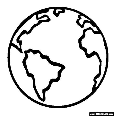 printable coloring page planet earth planet earth coloring page space pinterest coloring