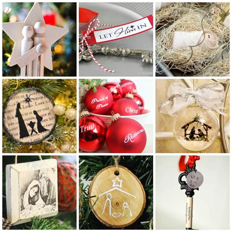 religious ornaments to make 20 diy ornaments about jesus