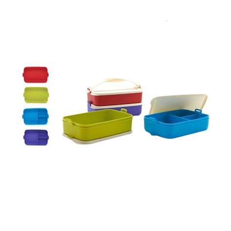 Multi Click To Go Tupperware jual tupperware multi click to go set kotak makan 4 pcs