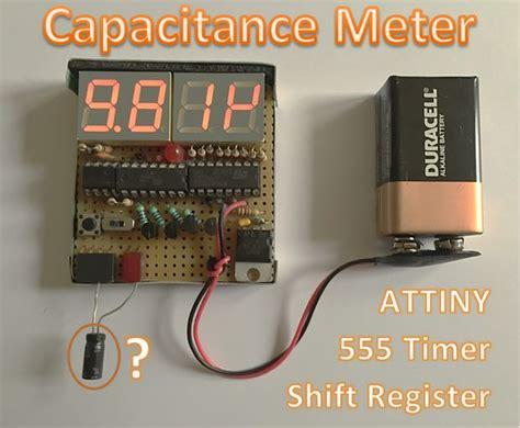 capacitor value meter capacitance meter electronics lab