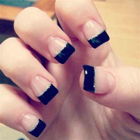 acrylic nail tips tip acrylic nails glitter http www mycutenails