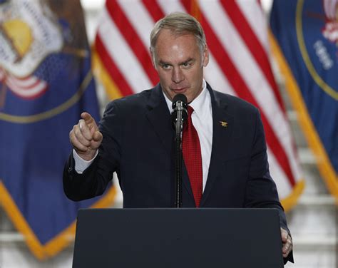 interior zinke zinke plans to move thousands of workers in the
