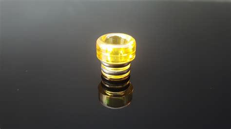 Ultem Wide Bore Drip Tip sky tip ultem 174 wide bore polished esmokeguru