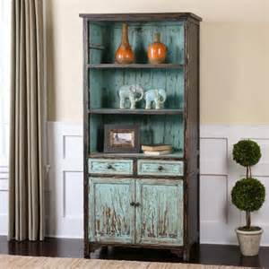 Distressed Bookshelves Uttermost Dunixi Distressed Bookcase Bookcases At Hayneedle