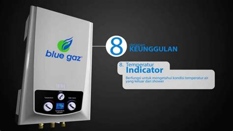 Tabung Water Heater Ariston Blue Gaz Gas Water Heater