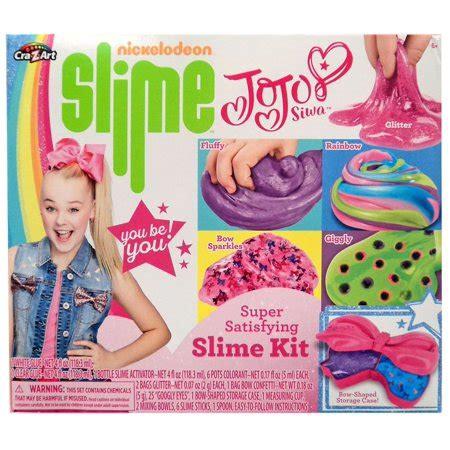 nickelodeon jojo siwa super satisfying slime kit walmart.com
