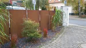 Sichtschutz Granit Deko Garten