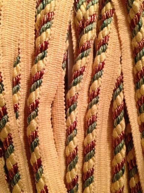 Upholstery Trim Cord by Upholstery Trim 1 2 Quot Brown Copper Gold Yellow Cord