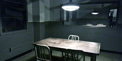 interrogation room silver factory standing sets interrogation room station revolting decor