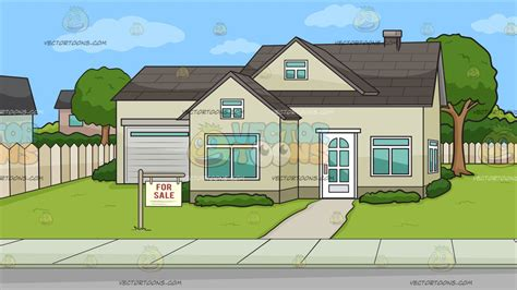 a house with big front porch background cartoon clipart vector toons a house for sale background cartoon clipart vector toons