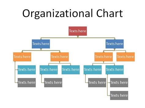 Organization Chart Template Excel by 40 Organizational Chart Templates Word Excel Powerpoint