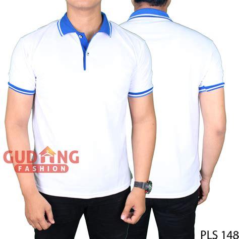 Pls 174 Kaos Polo Polos Lengan Panjang Lacost Pe Hitam Kerah Merah polo shirt lengan pendek terbaru lacost pe putih kerah biru pls 148 gudang fashion