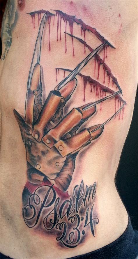 glove tattoo designs freddy krueger glove eeeekkkkk