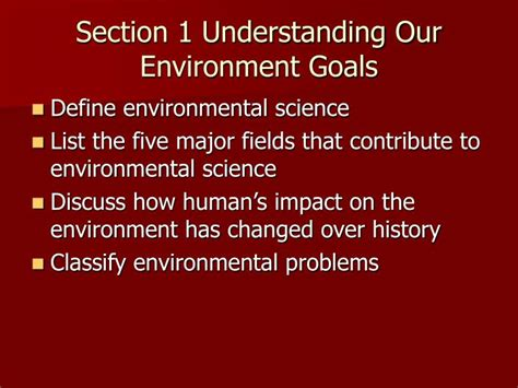 environmental science section 1 ppt environmental science chapter 1 powerpoint