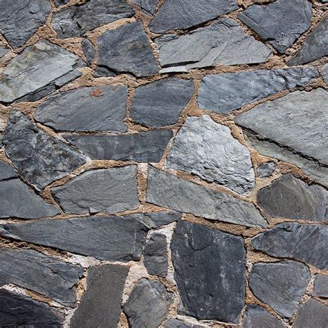 steinplatten wand granit grau steinplatte pflaster wand stockfoto colourbox
