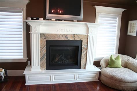 Fireplace Trim Ideas by More Customized Molding Moulding Ideas