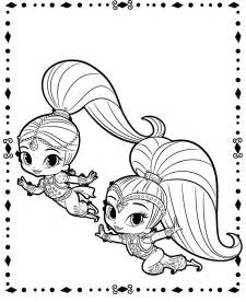 shimmer and shine coloring pages printable shimmer and shine coloring pages coloring pages