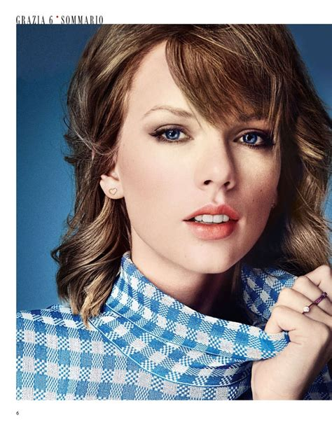 taylor swift taylor swift in grazia magazine italy february 2015 issue