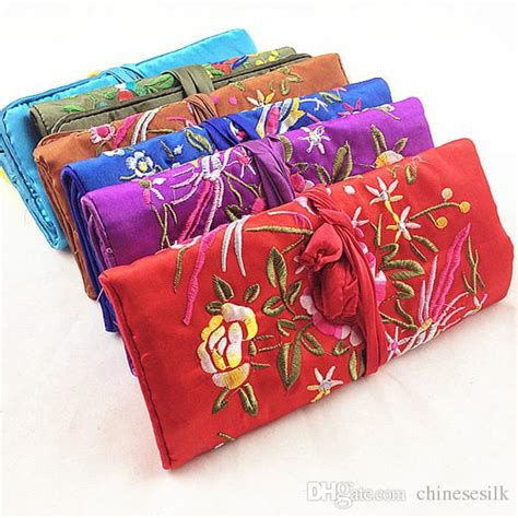 how to make a jewelry roll bag 2017 portable large jewelry roll up travel storage bag