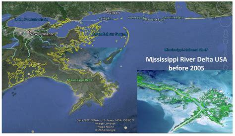 louisiana map before and after louisiana erosion map swimnova