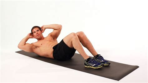 how to do a side crunch ab workout