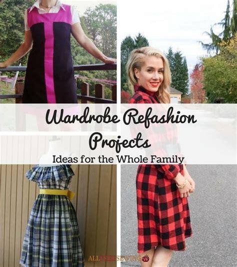 Wardrobe Refashion Ideas 30 wardrobe refashion projects 14 ideas for the whole