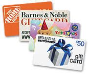 Scrip Gift Cards - fundraisers