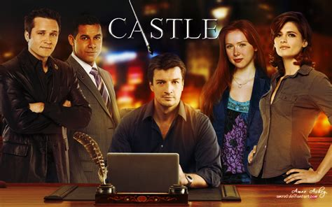 The Tv Show by Castle Tv Show Wallpapers Castle Wallpaper 30445709 Fanpop