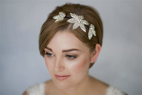hair band styles how to style wedding hair accessories with short hair
