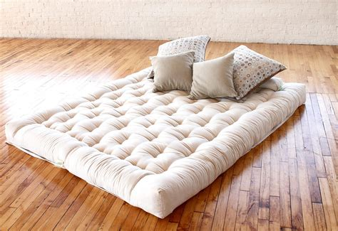 sofa bed mattress pad queen futon mattress image of organic cotton futon mattress