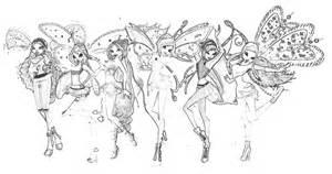 Winx believix coloring pages disegni da colorare winx winx