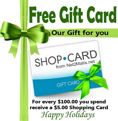 Free Shopping Gift Cards - free gift card internet home business