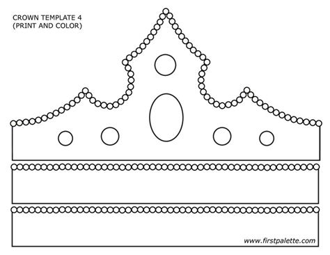 printable christmas crown paper crown template google search primary pinterest