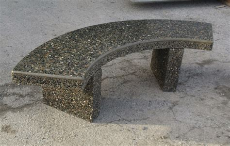 concrete benches furniture sanderson concrete inc