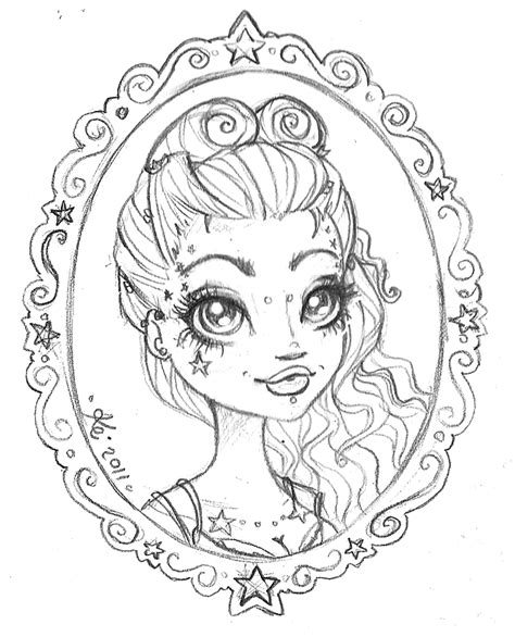 Kei Frames Pin Up Coloring Pages Printable