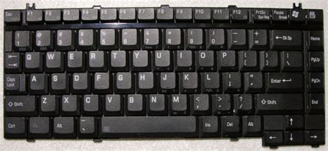 Keyboard Laptop Toshiba Satellite A135 genuine toshiba satellite a135 a130 keyboard kfrsba001a k000044100