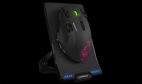 Mouse Gaming Roccat roccat leadr wireless gaming mouse 187 gadget flow