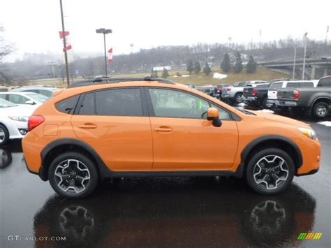 subaru orange subaru crosstrek 2014 orange www imgkid com the image