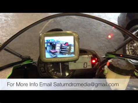rydeen motorcycle rear view camera safety system kawasaki