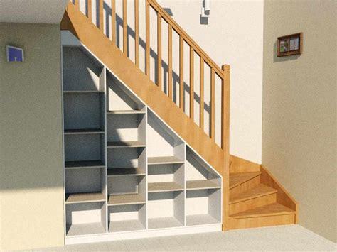 Superbe Amenagement Sous Escalier Tournant #1: etagere-sous-escalier-complete-rendu.jpg