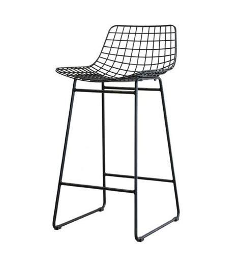 draadstaal stoel zwart hk living barkruk zwart draadstaal 42x47x89cm wonenmetlef nl