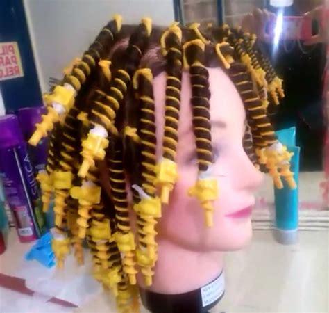 pelo con espiral como prender espirales para cabello con agua youtube
