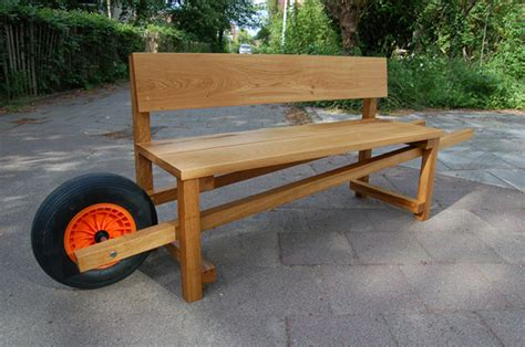 barrow and bench urban mobile wheelbarrow bench urban gardens