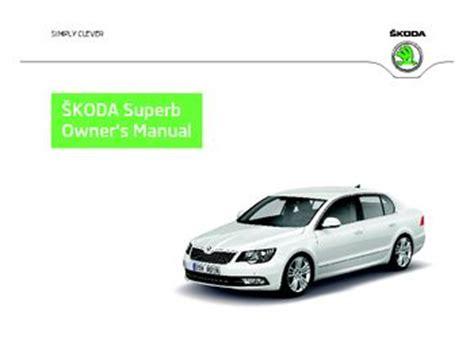 Skoda Superb Owners Manual 2015 Mixeguard