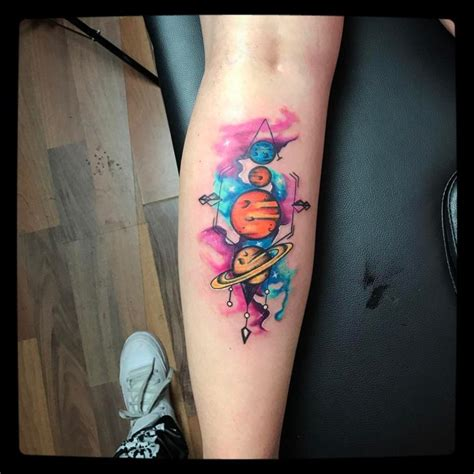 solar system tattoo best tattoo ideas gallery